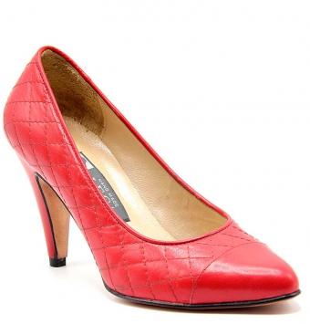 کفش مجلسی زنانه CHANEL قرمز