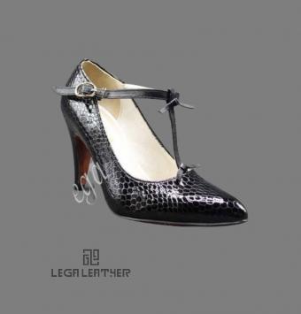 کفش مجلسی زنانه مدل LANCEL رکاب مچ مشکی
