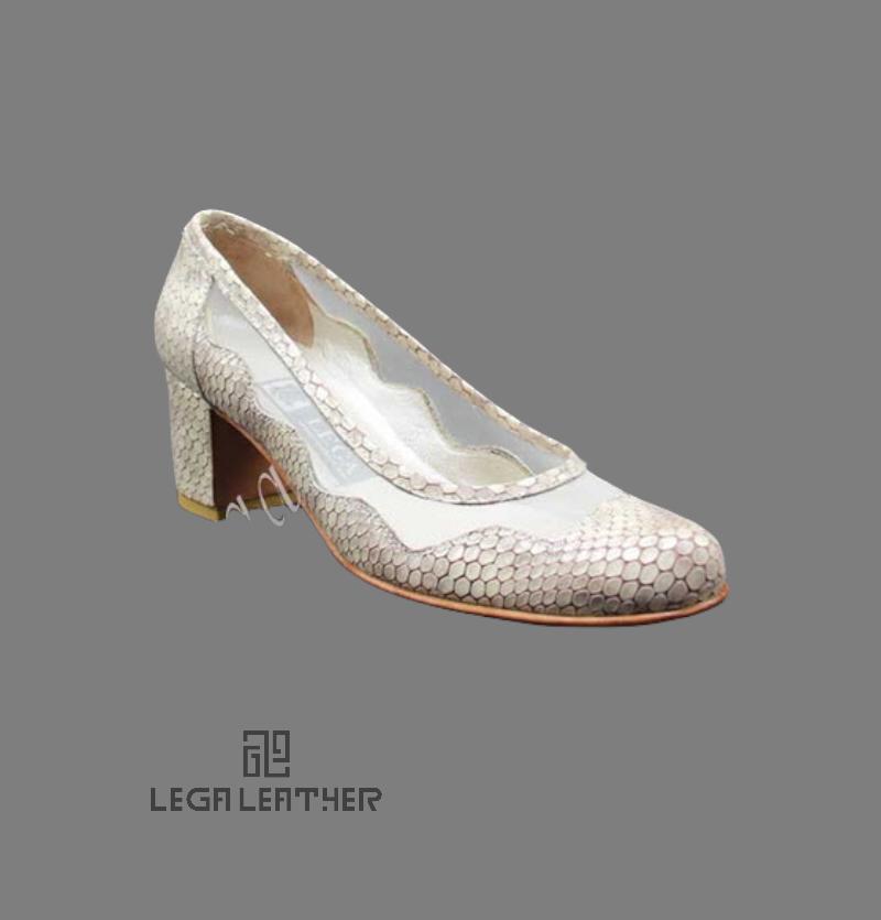 کفش مجلسی زنانه مدل DIOR کلاسیک کرم