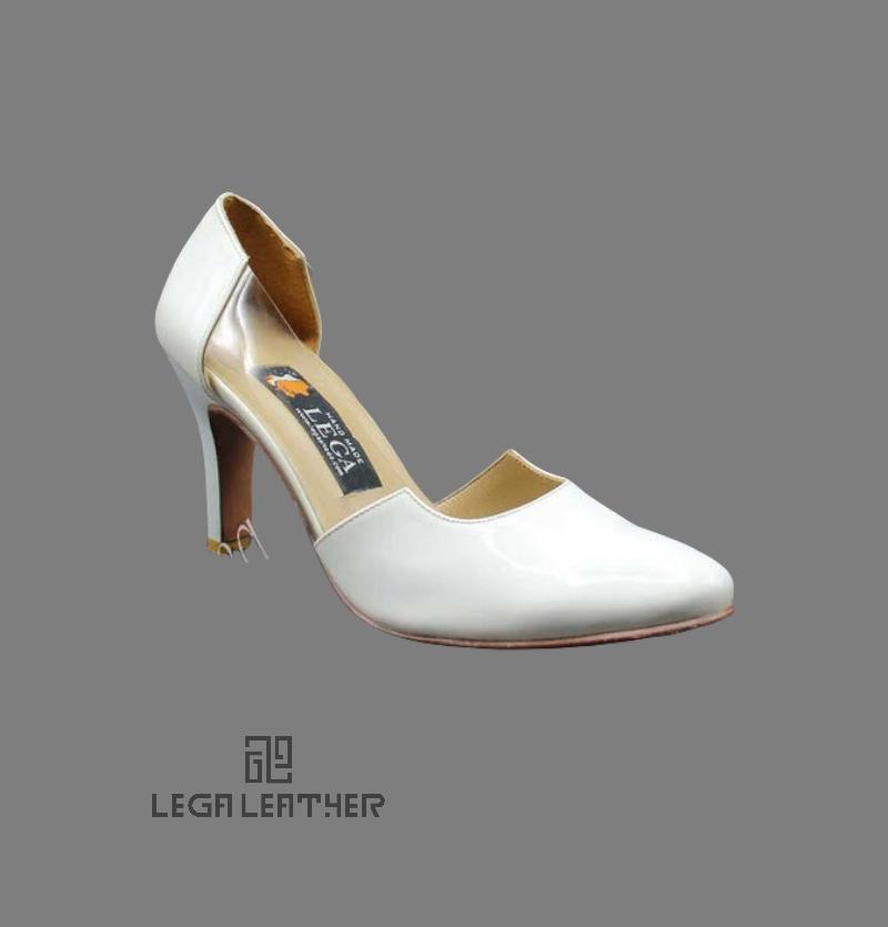 کفش مجلسی زنانه مدل YSL  کلاسیک سفید