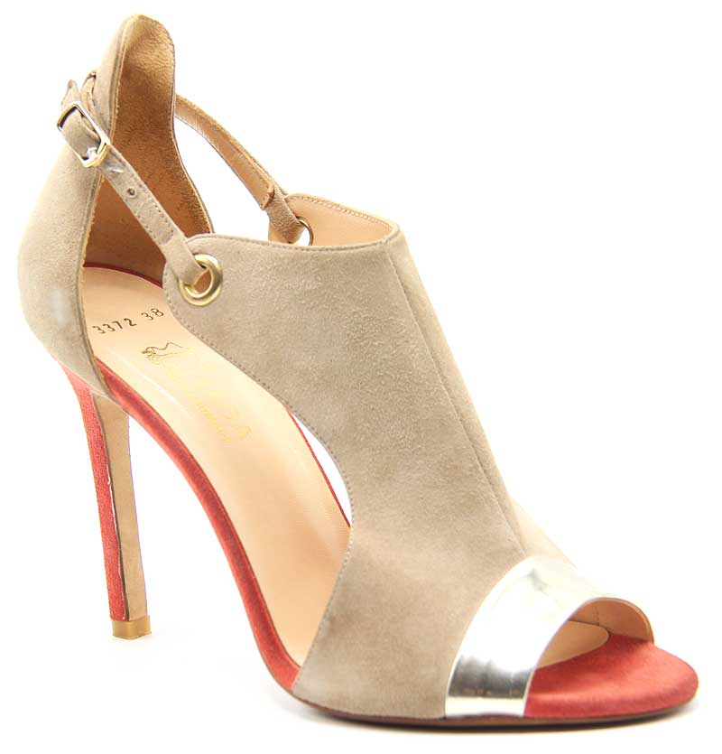 کفش مجلسی زنانه مدل CHANEL پنجه باز