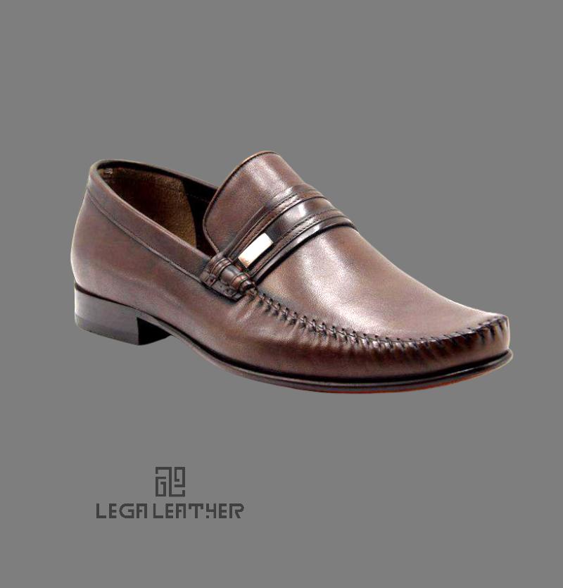 کفش مردانه مدل گوچی فانتوفلی قهوه ای
