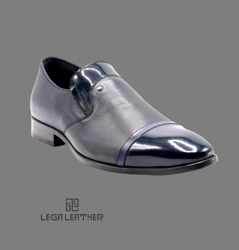 کفش مردانه مدل شارژدن سرمه ای