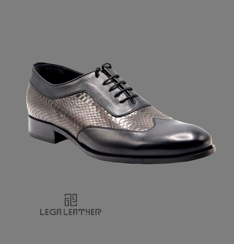 کفش مردانه مدل BALLY کلاسیک مشکی
