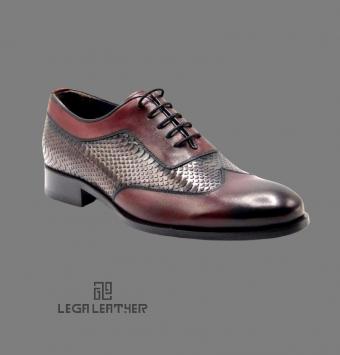 کفش مردانه مدل BALLY رنگ بردو