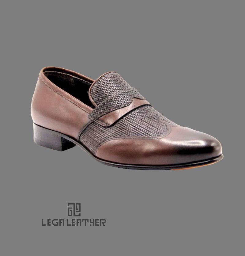کفش مردانه مدل ESCADA قهوه ای