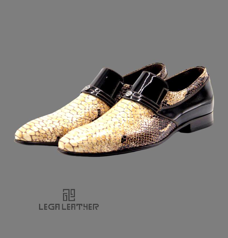 کفش مردانه کلاسیک بی بند فگور دار