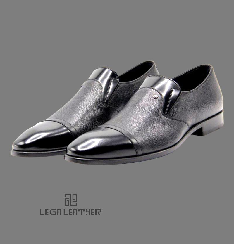 کفش مردانه شارژدن بغل کش دار