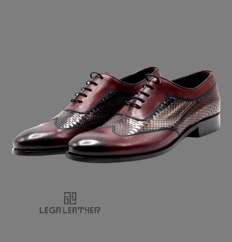 کفش مردانه مدل  BALLY کلاسیک بندی