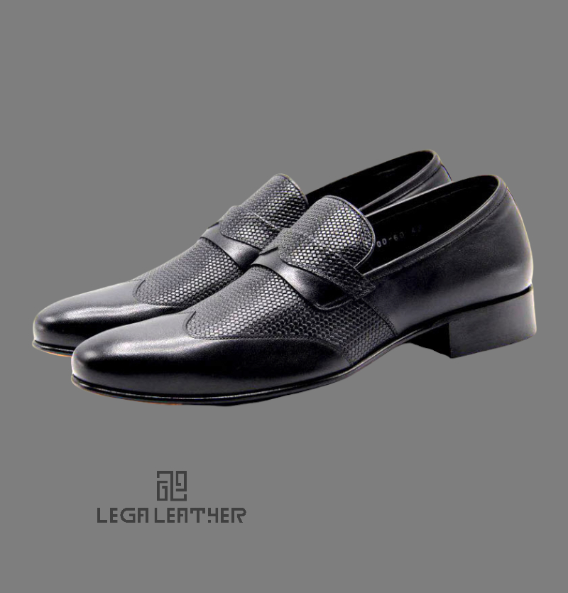 کفش مردانه مدل ESCADA وسط حصیری